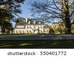 typical classical vintage house ... | Shutterstock . vector #550401772