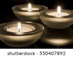 tea lights | Shutterstock . vector #550407892
