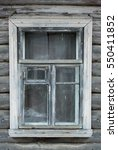 Old Wooden Window In An...