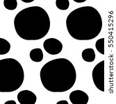 abstract spot pattern with hand ...   Shutterstock . vector #550415296