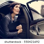 Businesswoman Corporate Taxi...