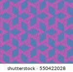geometric shape abstract ... | Shutterstock . vector #550422028