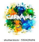 illustration of carnival from...   Shutterstock . vector #550429696