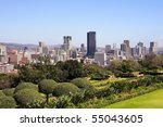 pretoria skyline  south africa | Shutterstock . vector #55043605