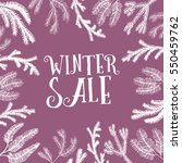 collection of hand drawn new... | Shutterstock .eps vector #550459762