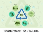 save environment and green... | Shutterstock .eps vector #550468186