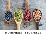 natural grains consisted of... | Shutterstock . vector #550475686