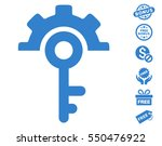 key options icon with free... | Shutterstock .eps vector #550476922