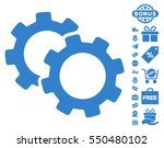 gears pictograph with free... | Shutterstock .eps vector #550480102