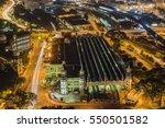 the iconic kuala lumpur railway ... | Shutterstock . vector #550501582