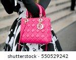 paris october 1  2015. street... | Shutterstock . vector #550529242