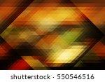 retro pattern of geometric... | Shutterstock . vector #550546516