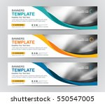 Stock vector abstract web banner design background or header templates 550547005
