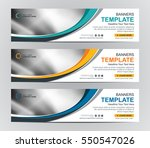 abstract web banner design... | Shutterstock .eps vector #550547026