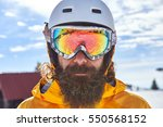 skier in mountains | Shutterstock . vector #550568152