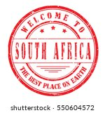 "rubber stamp ""welcome to south... 