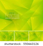 fractal abstract background  | Shutterstock .eps vector #550663126