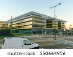 Small photo of STRASBOURG, FRANCE - NOV 29, 2016: Building of the Grand Est, previously Alsace-Champagne-Ardenne-Lorraine the French administrative region in northeastern France