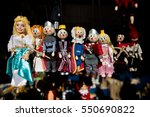 Group Of Tale Wooden Character...