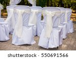 decorations for the wedding... | Shutterstock . vector #550691566