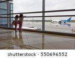 boryspil  ukraine   august 29 ... | Shutterstock . vector #550696552