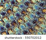 digital art abstract pattern.... | Shutterstock . vector #550702012