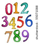 Sketch Numbers   Vector