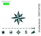 pictograph of compass | Shutterstock .eps vector #550714732