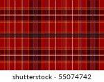 Red Tartan Fabric Texture