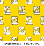 printed and polygraphy product. ... | Shutterstock .eps vector #550750492