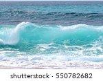 ocean wave  | Shutterstock . vector #550782682