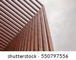 slat in modern building | Shutterstock . vector #550797556
