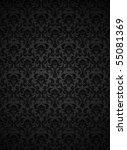 seamless wallpaper pattern | Shutterstock .eps vector #55081369