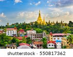 Yangon  Myanmar City Skyline...