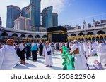 mecca  saudi arabia   december... | Shutterstock . vector #550822906