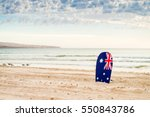 Surfing Board With Australian...