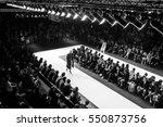 fashion show  a catwalk event ...   Shutterstock . vector #550873756