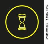hourglass | Shutterstock .eps vector #550874542