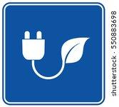 eco energy icon design clean...