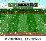 baseball ground | Shutterstock .eps vector #550904206