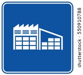 warehouse icon design clean... | Shutterstock .eps vector #550910788