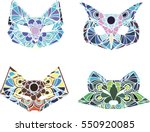 silhouettes | Shutterstock .eps vector #550920085