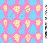 pink blue yellow modern pine... | Shutterstock .eps vector #550927942