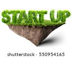 start up business 3d... | Shutterstock . vector #550954165