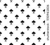 vietnamese hat pattern seamless ... | Shutterstock .eps vector #550961836