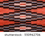 romanian folk seamless pattern... | Shutterstock . vector #550962706
