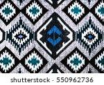 romanian folk seamless pattern... | Shutterstock . vector #550962736
