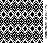 black and white vector ornament ... | Shutterstock .eps vector #551014792