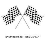 racing flag | Shutterstock .eps vector #55102414