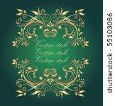 gold frame   Shutterstock .eps vector #55103086